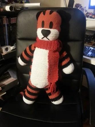 Hobbes by MadLikeGrr from Ravelry. Aaaw, he is soo cuute! *-*