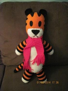 Hobbes made by MrsKalEl. Cuute! ^^