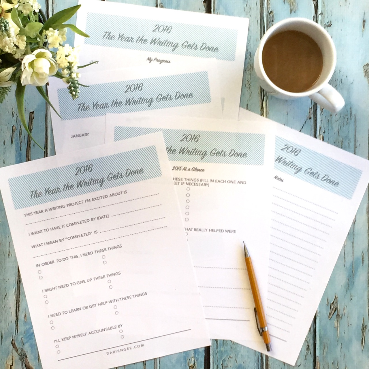 Goal Planners And Worksheets