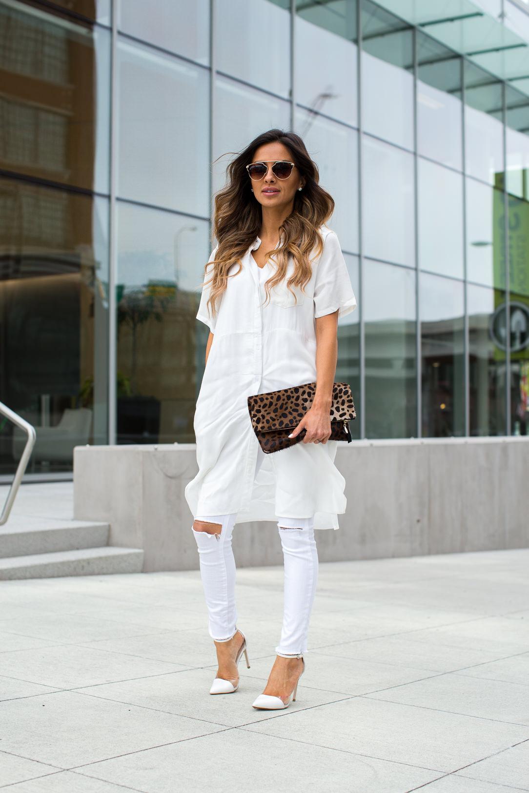 White Shirt Dress. - Mia Mia Mine