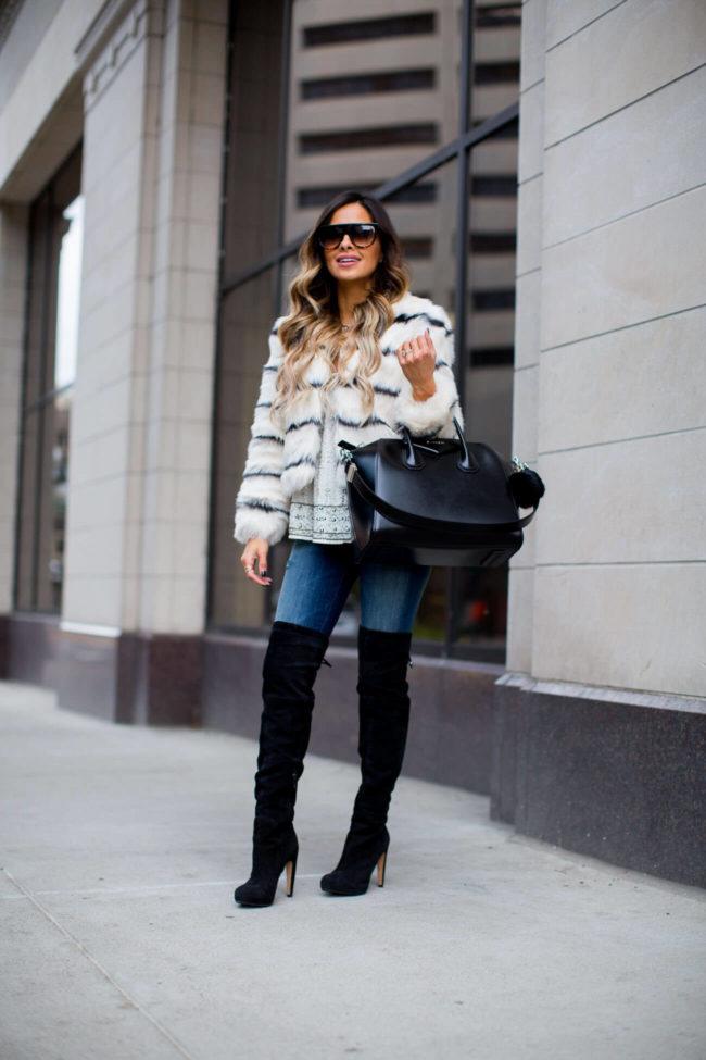 Nordstrom Womens Faux Fur Coats
