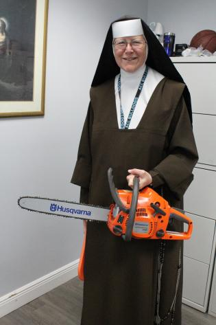 ADOM  A day in the life of the chainsaw nun