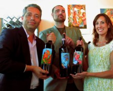 The Many Arts of Sandro Chia Showcased at Wine by the Bay's First Friday Art Walk Event