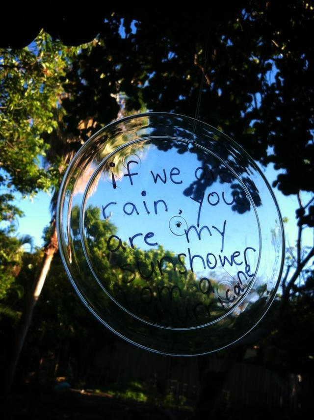Poetry at the R.Y.P.E. Buena Vista Community Garden. Verse by Monica Torres: