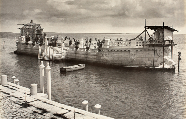 Barge in Vizcaya's Heyday<br/>