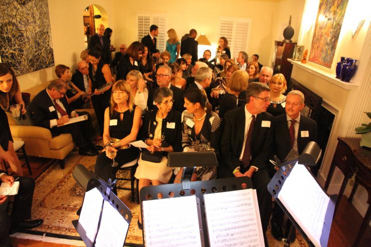 MAZ  Gallery Cleveland Orchestra Private Reception