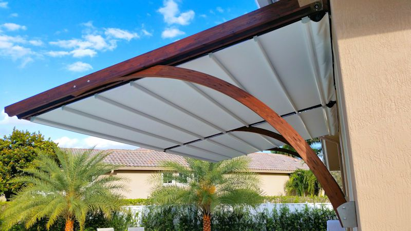 Retractable Awnings  Canopies  Miami Awning  Shade