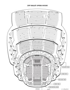 Ziff ballet opera house seating chart also carnvial center find theatre seats at the carnival rh miamibeach