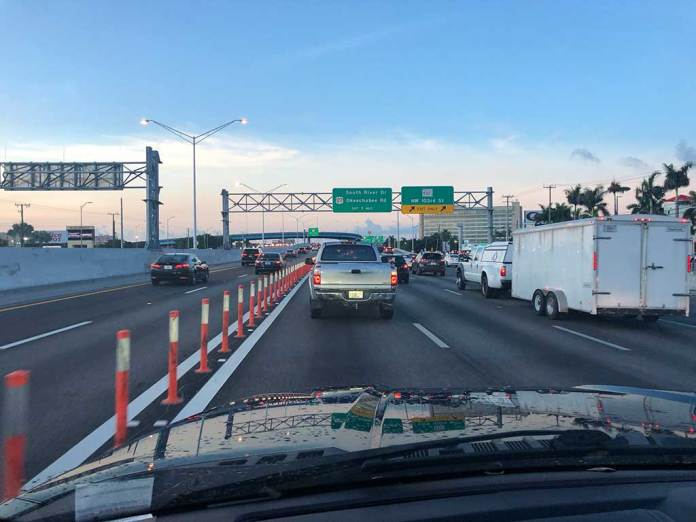 Palmetto Southbound at 103 Street Hialeah Bypass