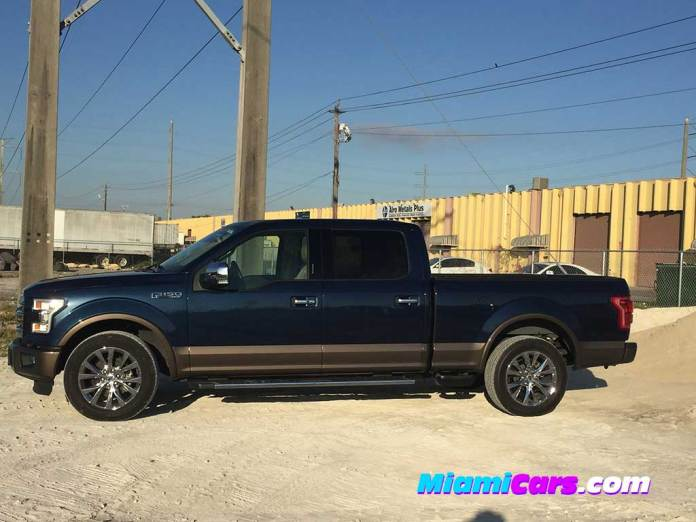 Ford F-150 at Sand and Rock Quarry