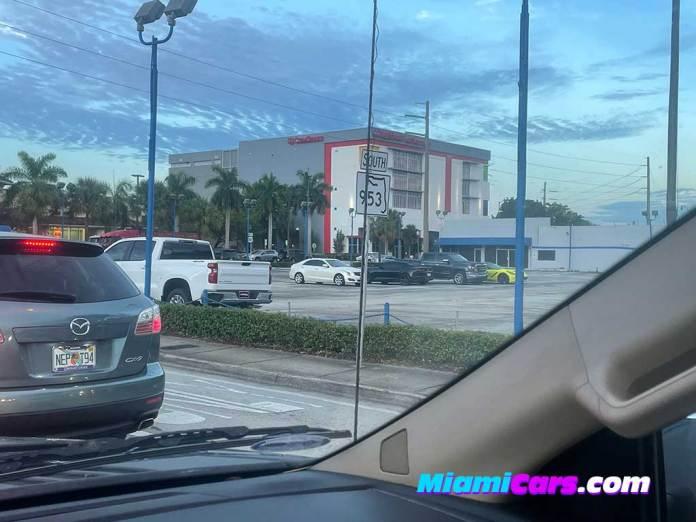 AutoNation Chevrolet Coral Gables Empty Lot