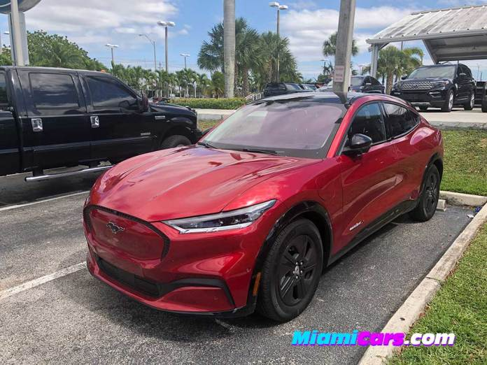 Ford Mustang MACH-E at Autonation Ford Miami