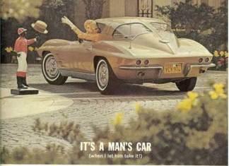 Corvette Stingray Advertisement