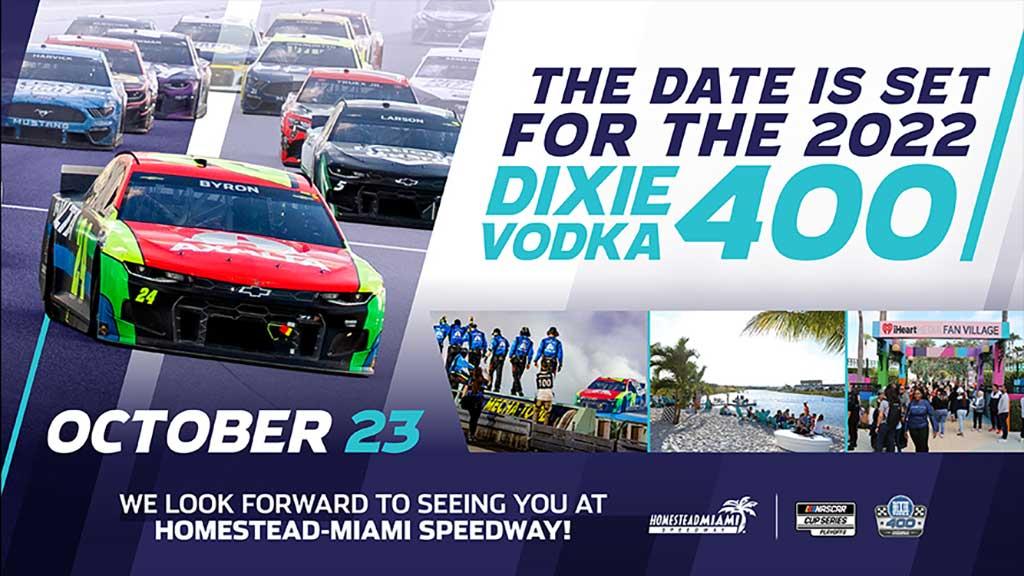 DIXIE VODKA 400 at Homestead-Miami Speedway