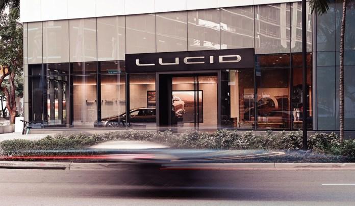 Lucid Motors at Brickell City Centre (photo credit Lucid Motors)