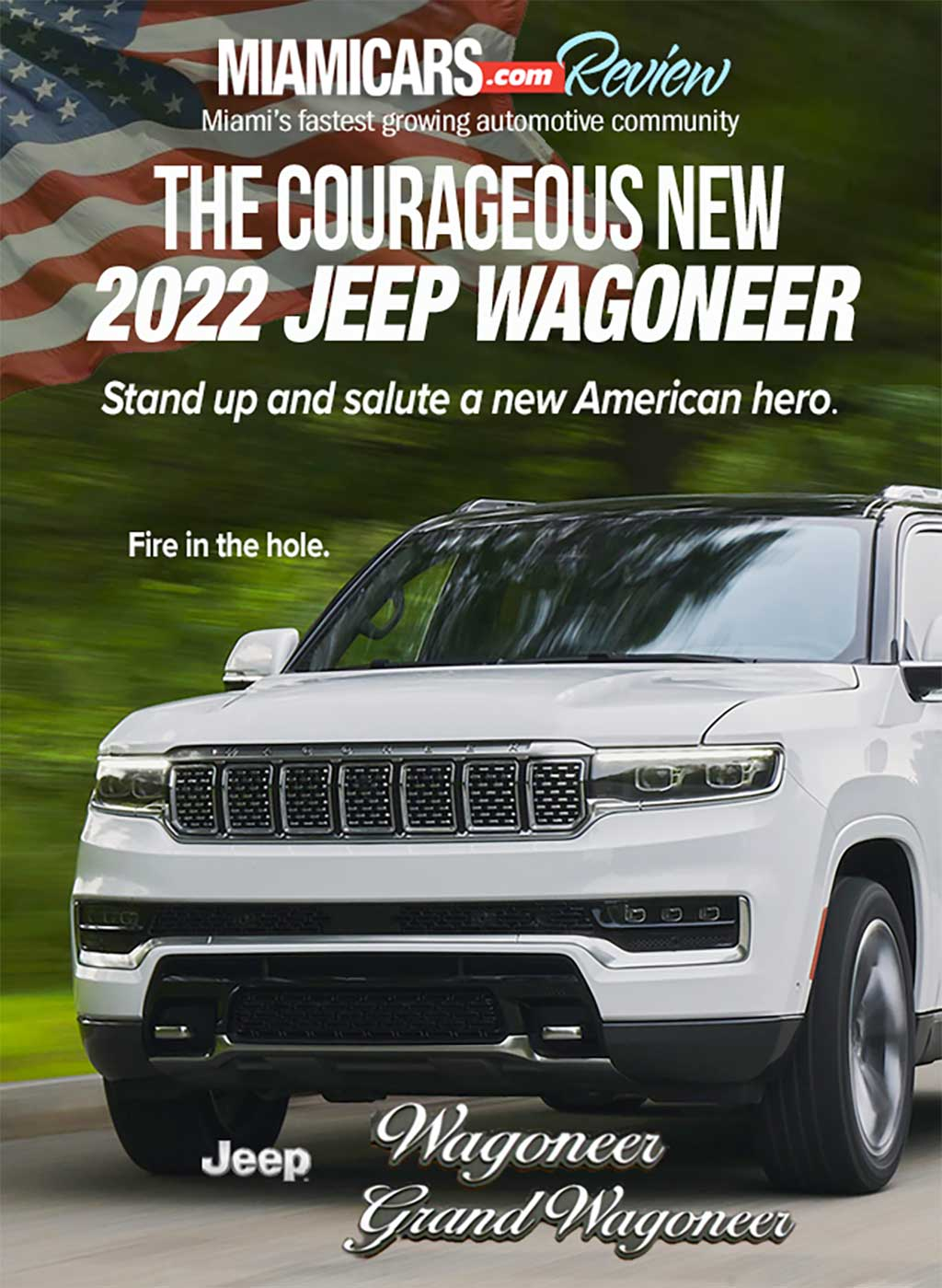 The Courageous New 2022 Jeep Wagoneer