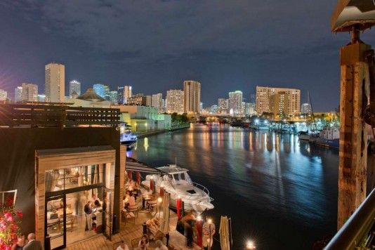 Miami restaurants with a view