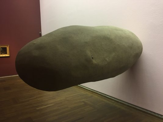 potato sculpture by Erwin Wurm