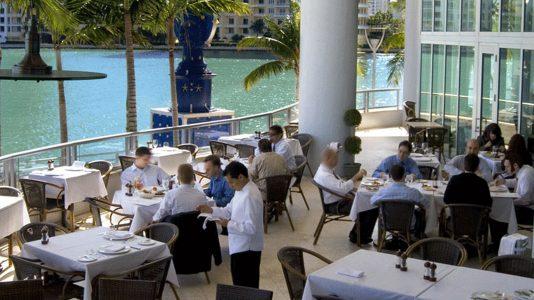 quiet restaurants miami