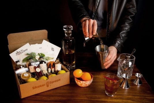 Shaker and Spoon, gifts for Father's Day, cocktail kits, MiamiCurated