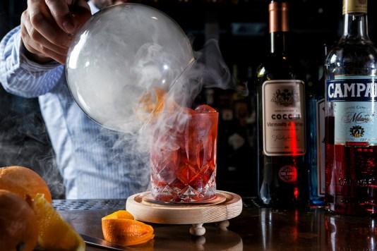 miami spice la moderna, best negroni cocktail at la moderna