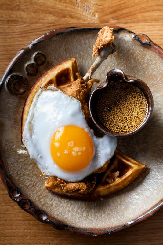 SUGARCANE duck and waffle, MiamiCurated
