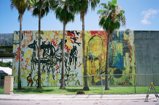 Purvis Young Murals, Overtown, MiamiCurated