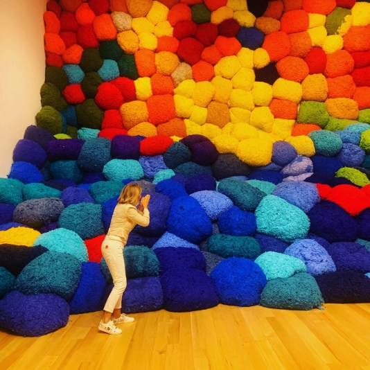 fiber sculpture, Sheila Hicks Bass