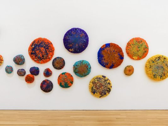 Sheila Hicks Bass, fiber sculpture by Sheila Hicks