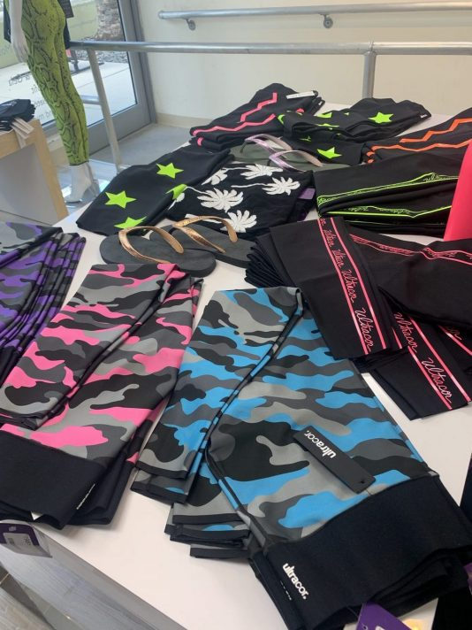 best fitness clothes miami, sunset harbour shops