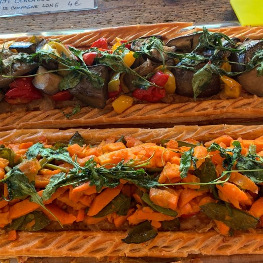 vegetable pastry tarts, french pastry tarts, MiamiCurated, provence travel, L'Isle Sur La Sorgue