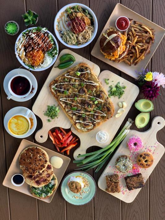 vegan food halls, vegan food hall Miami, miamicurated
