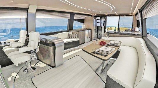 lexus yacht interior, miamicurated
