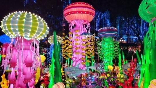 Christmas lights Miami, Luminosa festival, luminosa chinese lantern festival, MiamiCurated