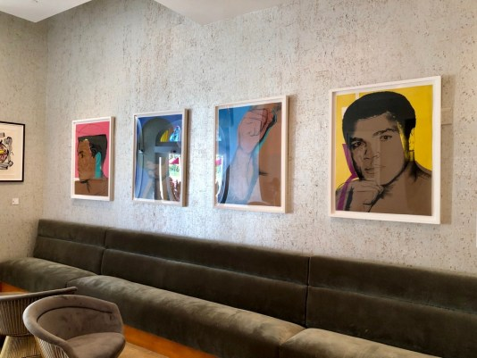 hotels with art collections miami, miamicurated