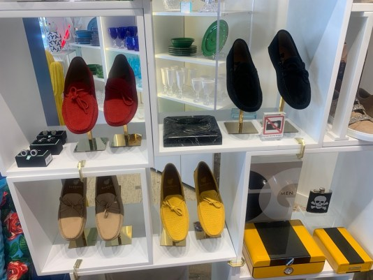 Miami mens fashion, suede moccasins from The Bazaar Project, miamicurated