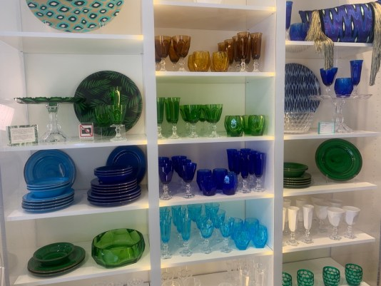 shops in coconut grove, coconut grove stores, acrylic tableware at the bazaar project, MiamiCurated
