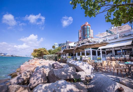 outdoor dining in miami beach, miamicurated