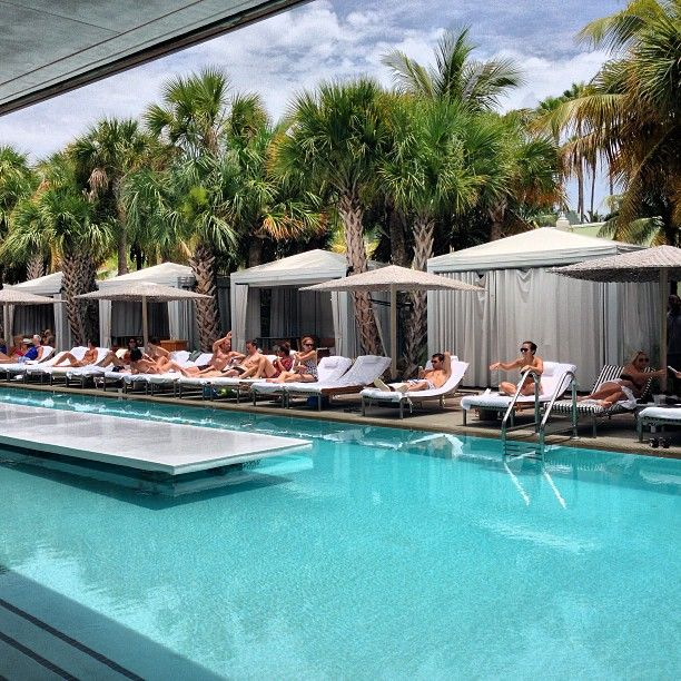SLS South beach day pass, MiamiCurated