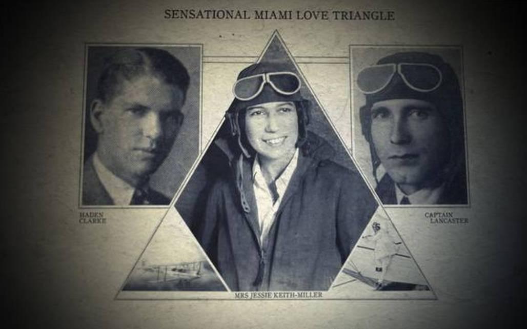 aviators love triangle photos of chubby miller, bill and haden