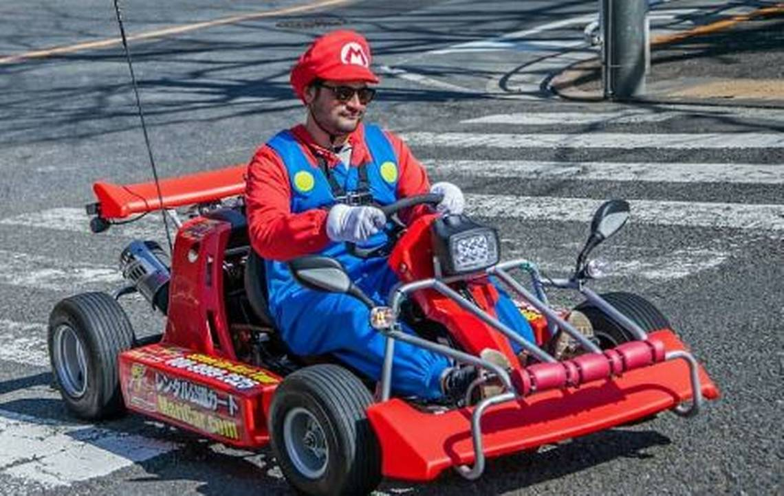 live mario kart racing
