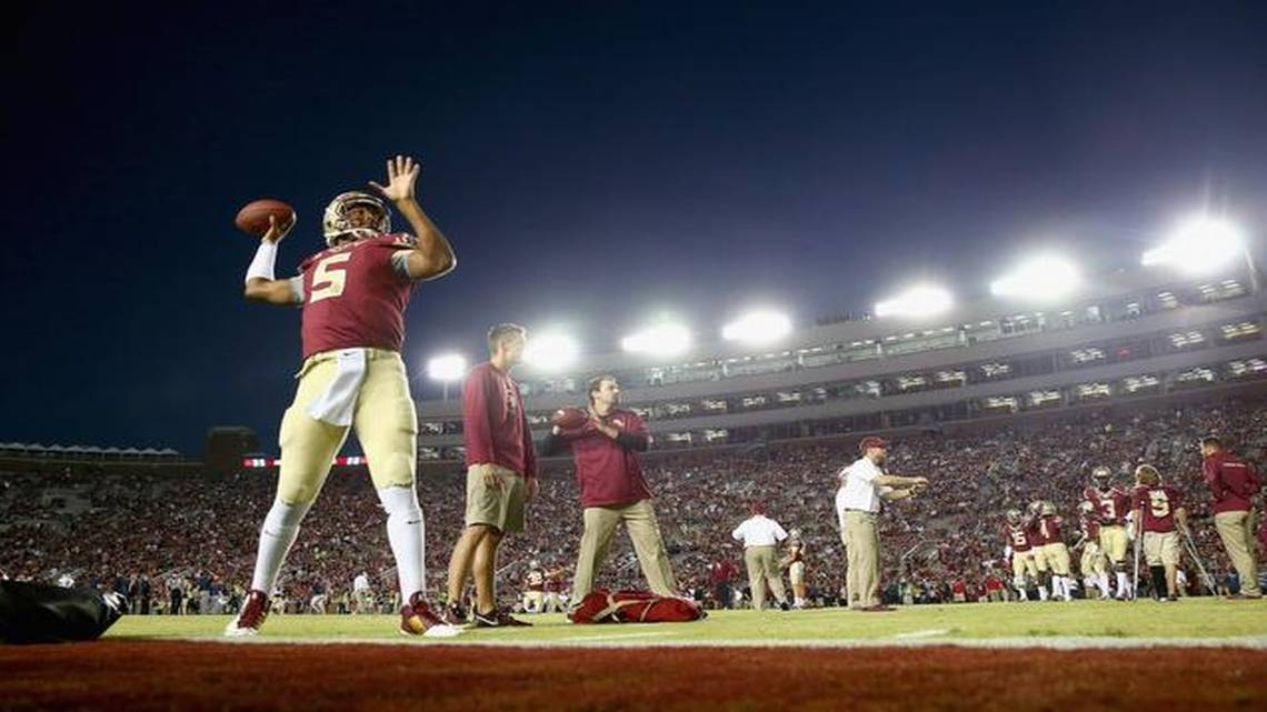 Florida State Seminoles fans show support for Jameis Winston  Miami Herald