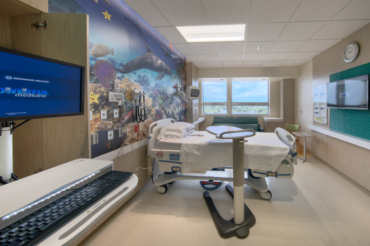 Miami In Focus Photo Gallery Of The Salah Foundation Childrens Hospital In Fort Lauderdale FL