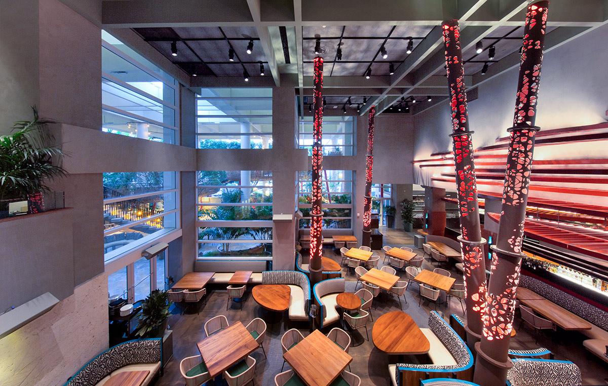 Miami In Focus Photo Gallery Of Komodo Restaurant In Downtown Miami