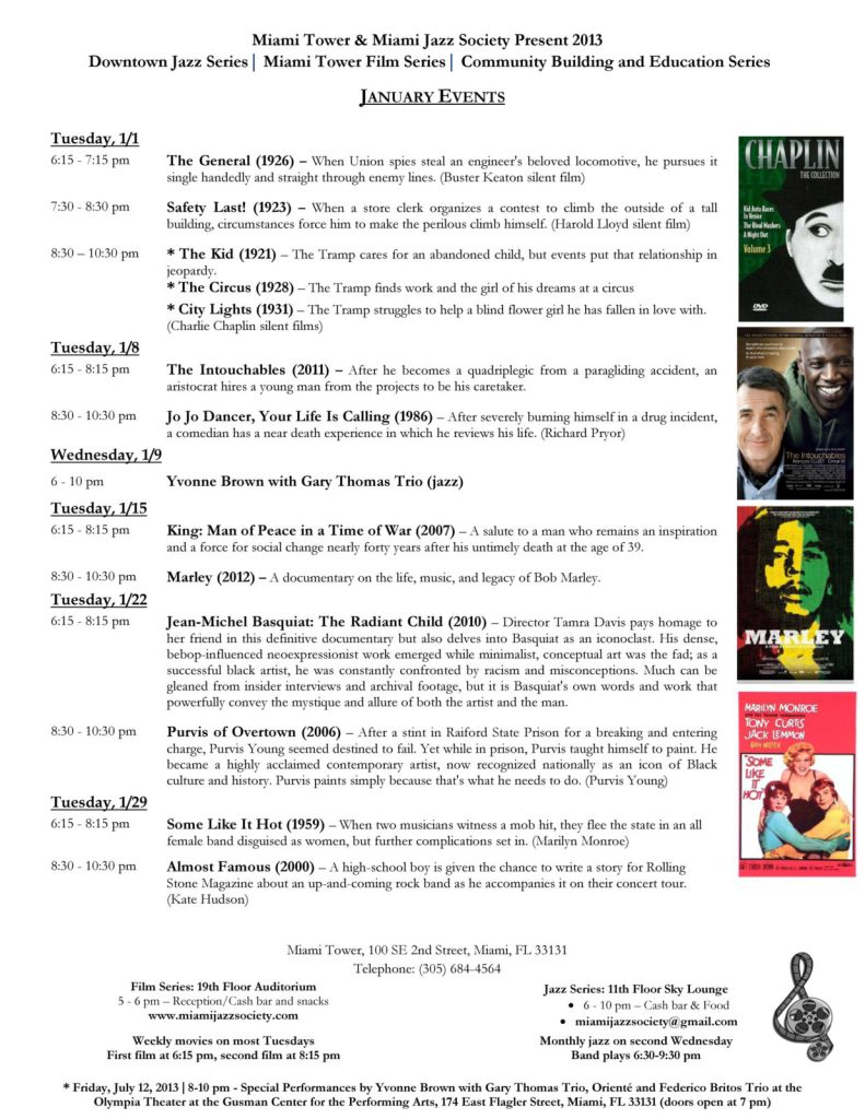 1January Events - Films  Jazz (1)