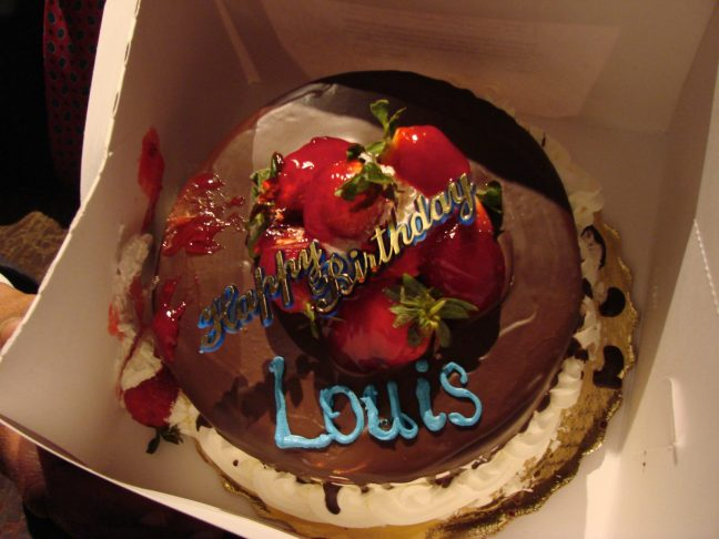 OK, so his actual birthday was August 4... Still, we all enjoyed eating this cake in honor of one of the greatest artists this country has ever produced!