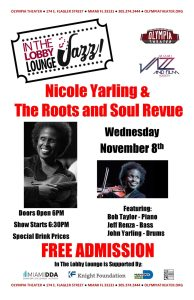 Nicole Yarling & The Roots and Soul Revue @ Olympia Theater | Miami | Florida | United States