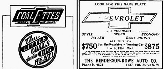 Where Did the Logo for Chevrolet Dealerships Come From?