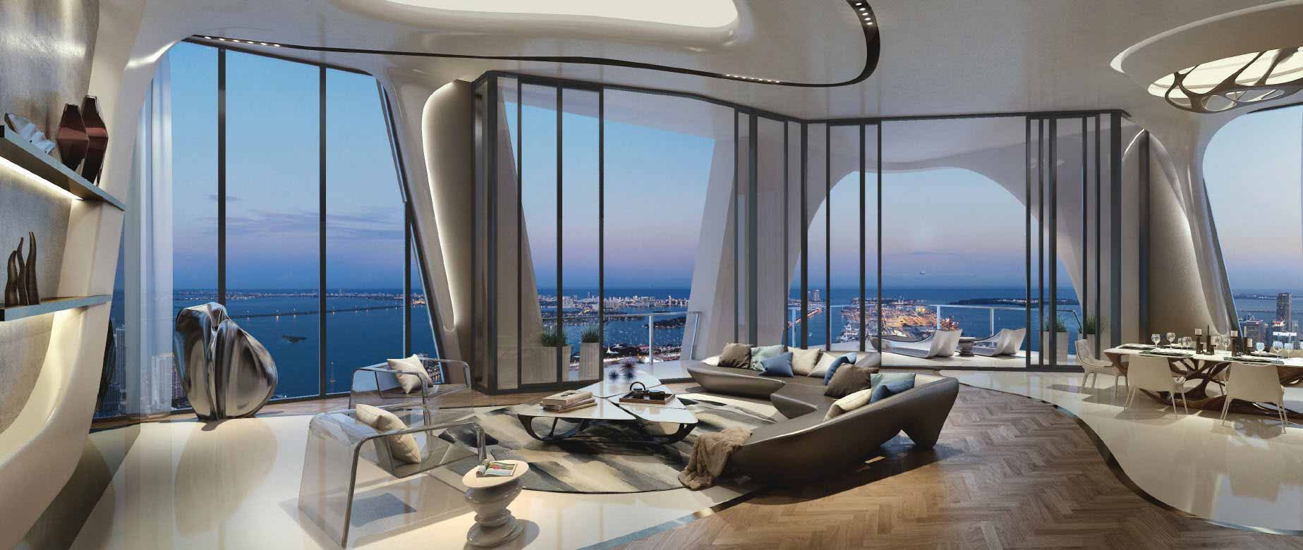 One Thousand Museum UltraLuxury Condos are 60 Sold