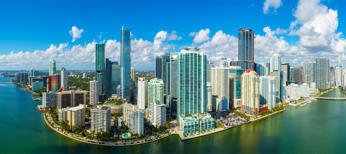 Brickell  Waterfront Financial District of Downtown Miami